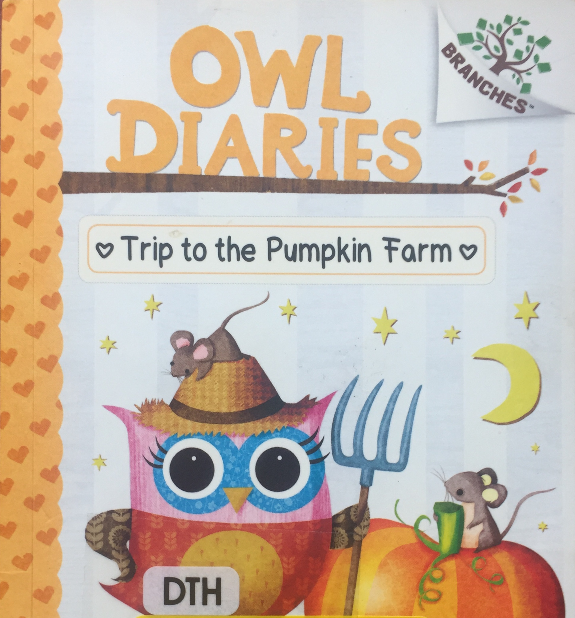 Owl Diaries by Rebecca Elliott A Trip to the Pumpkin Farm book number eleven 11