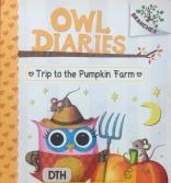 Owl Diaries by Rebecca Elliott A Trip to the Pumpkin Farm book number eleven 11