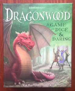 Dragonwood card game for kids in box