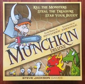 Munchkin board game in box