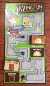 Munchkin board game with