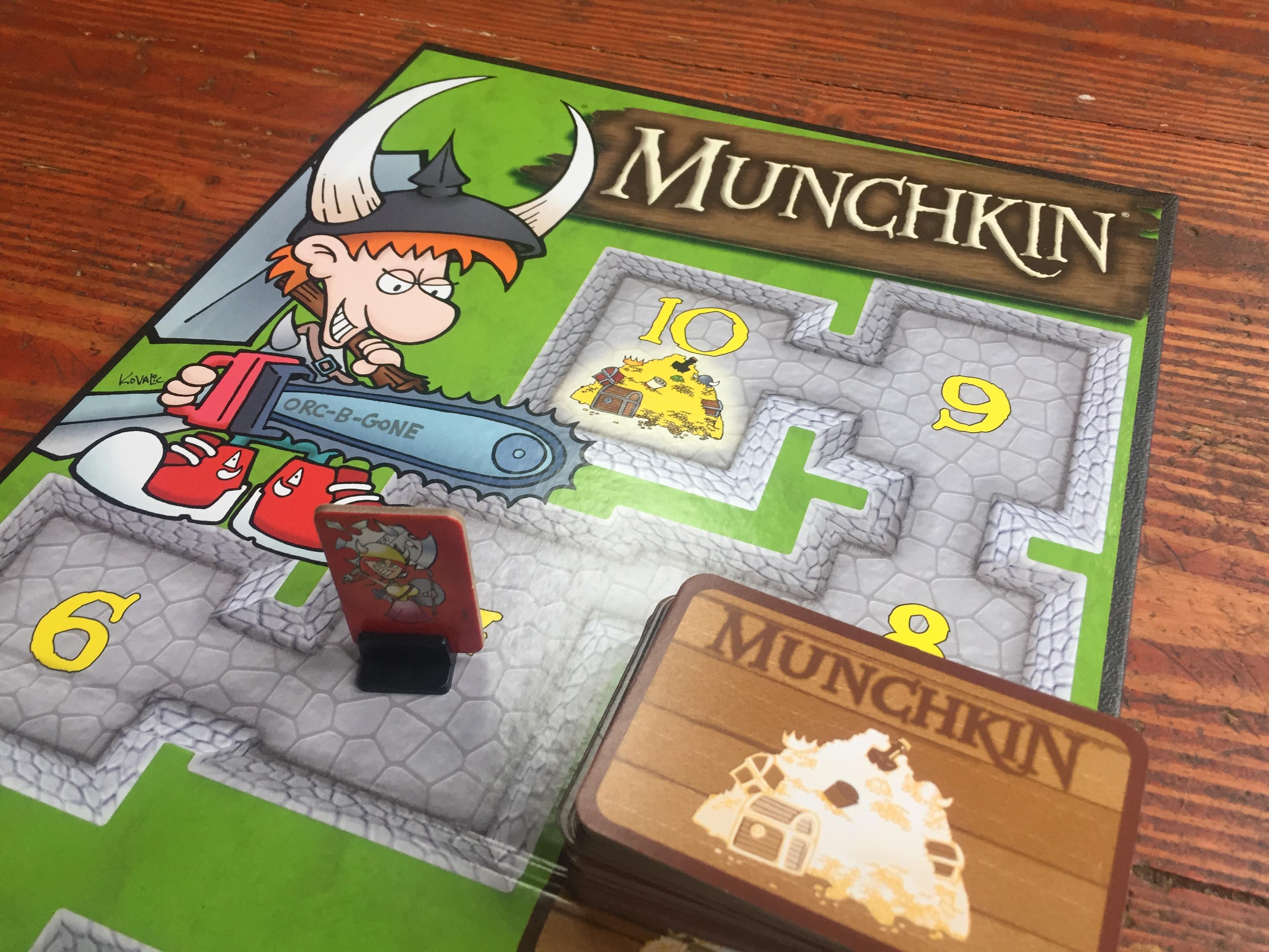 Munchkin board game for kids