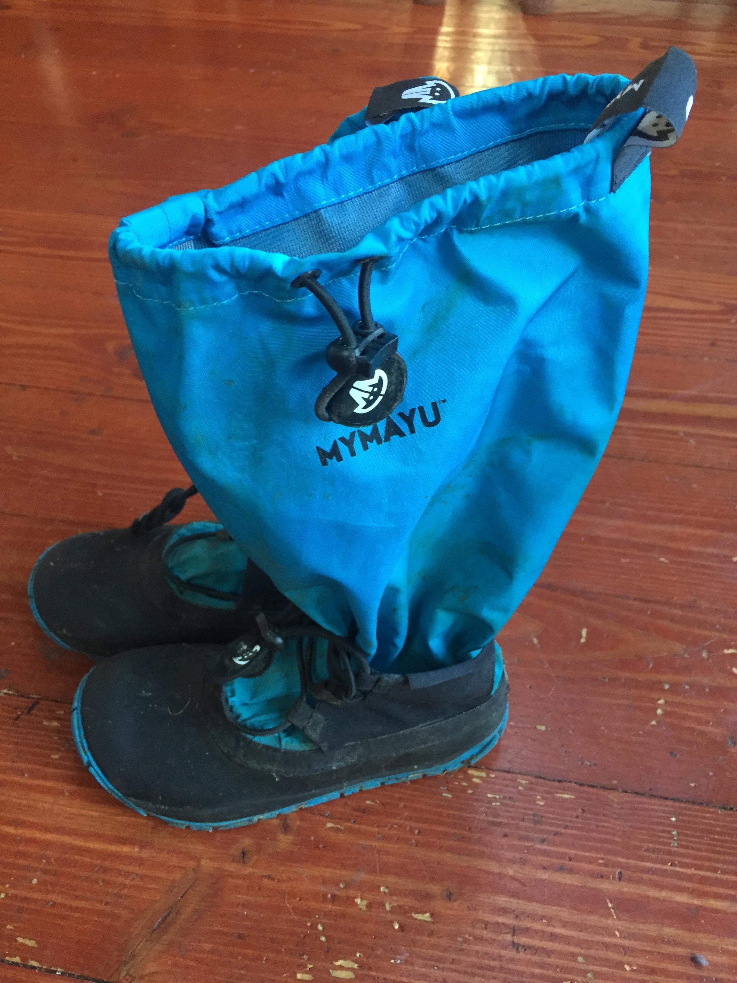 Mymayu rain boots blue Traveler style