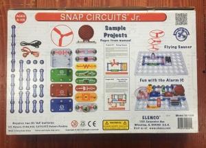 Snap Circuits Jr box contents
