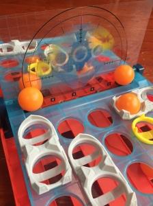 Battleship Shots game orange balls