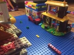 NILO blue lego compatible building brick base plate 12 x 32 inches