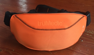 Magic Hands Massager in orange neoprene truMedic