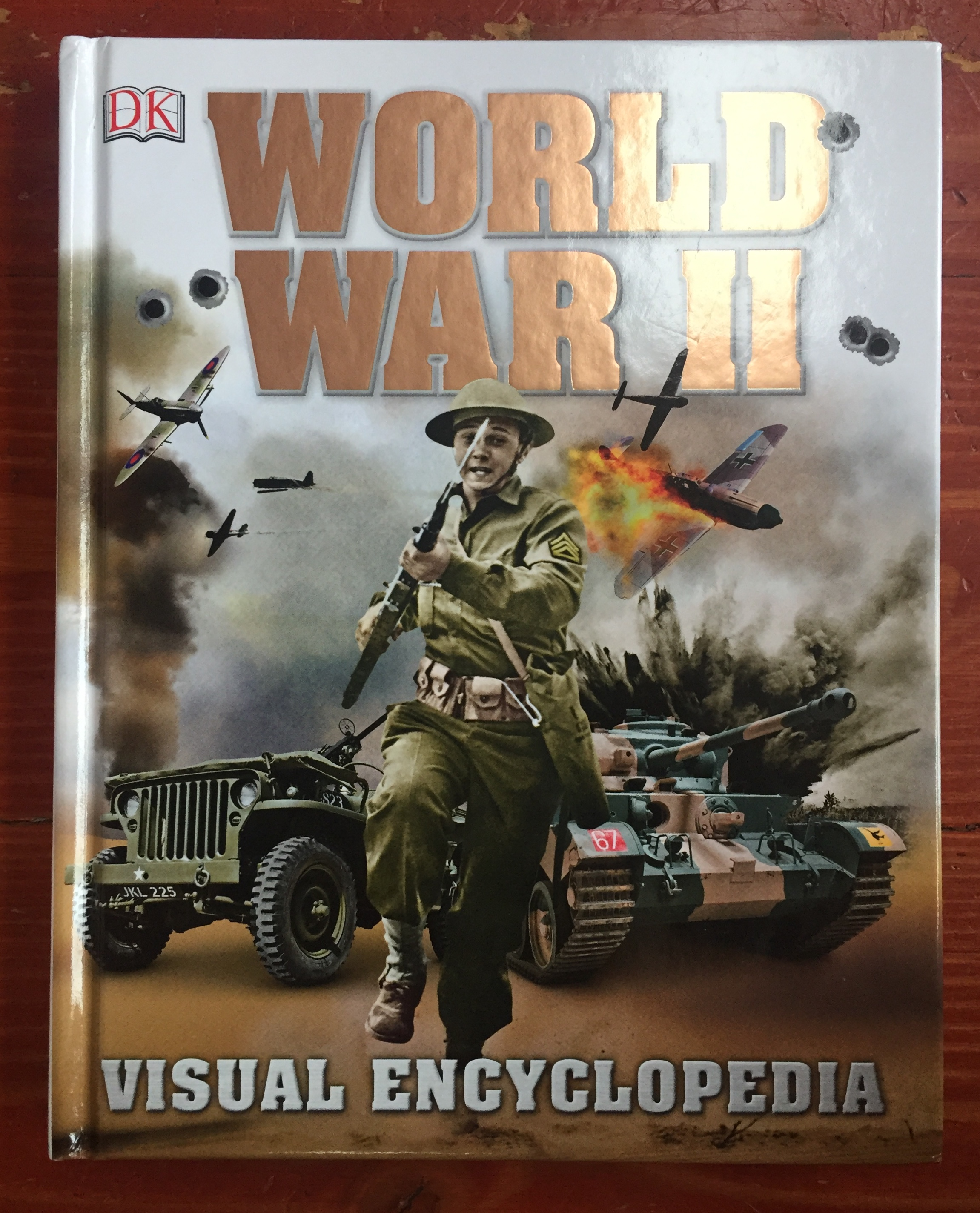 World War II Visual Encyclopedia for kids