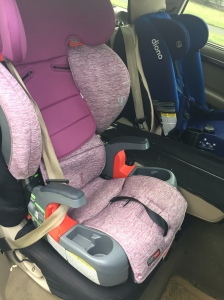 Britax Grow With You Harness2Booster two mode booster seat
