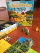 Kingdomino game for kids and adults
