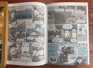 Nathan Hale's Hazardous Tales Raid of No Return page spread graphic novel