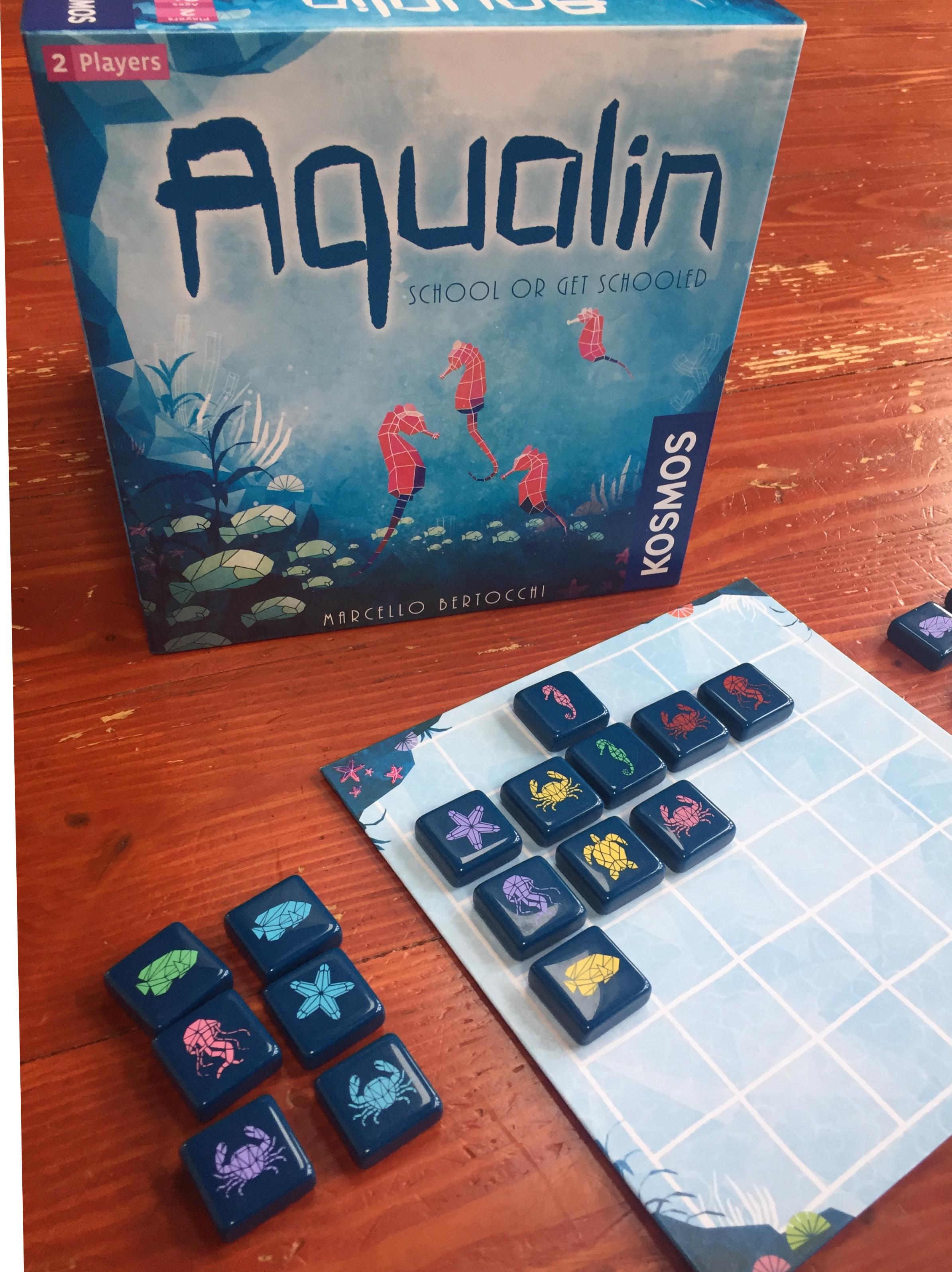 Aqualin matching strategy sea creature game