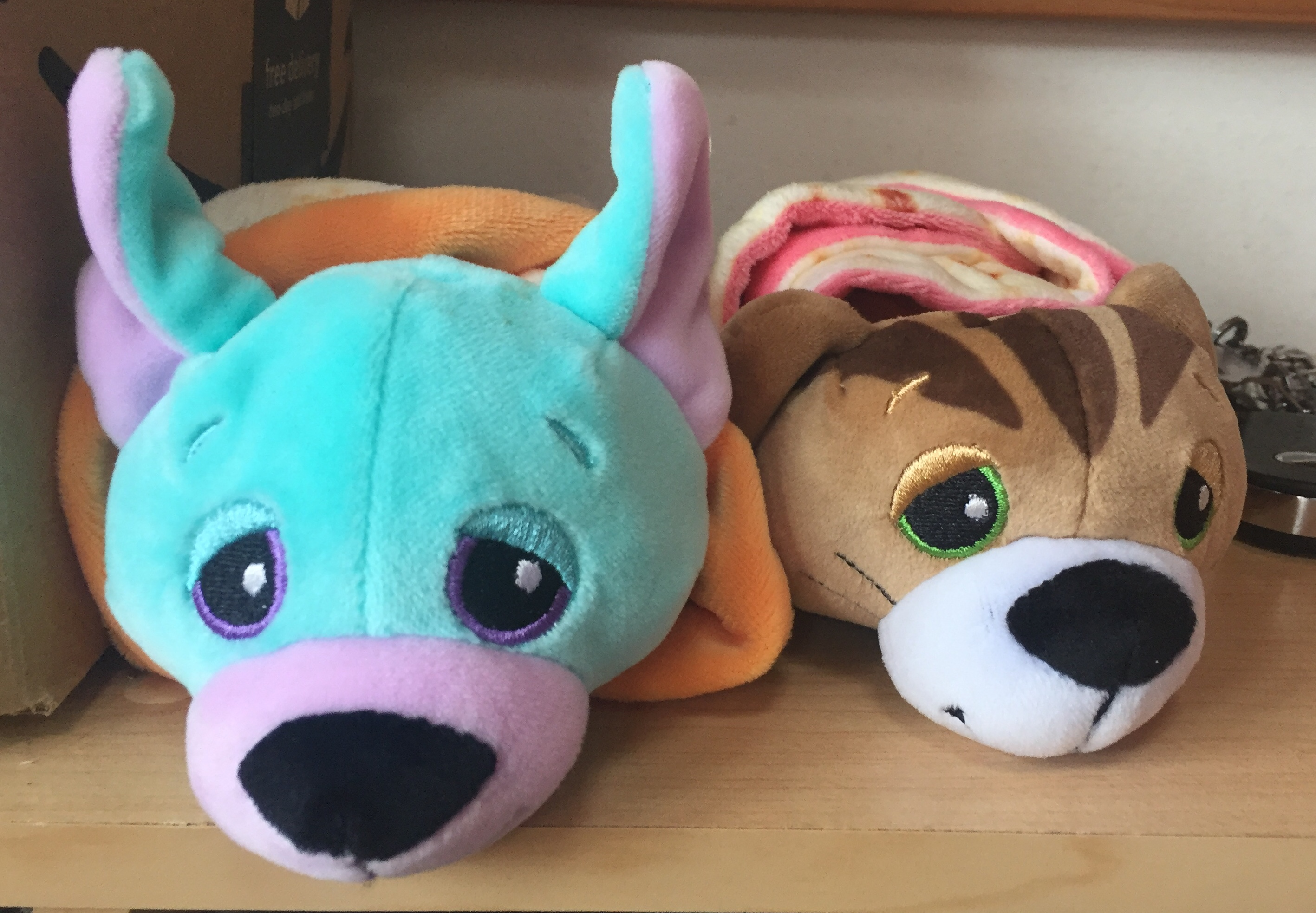 Cutetitoes burrito wrapped surprise stuffed animals blind bag