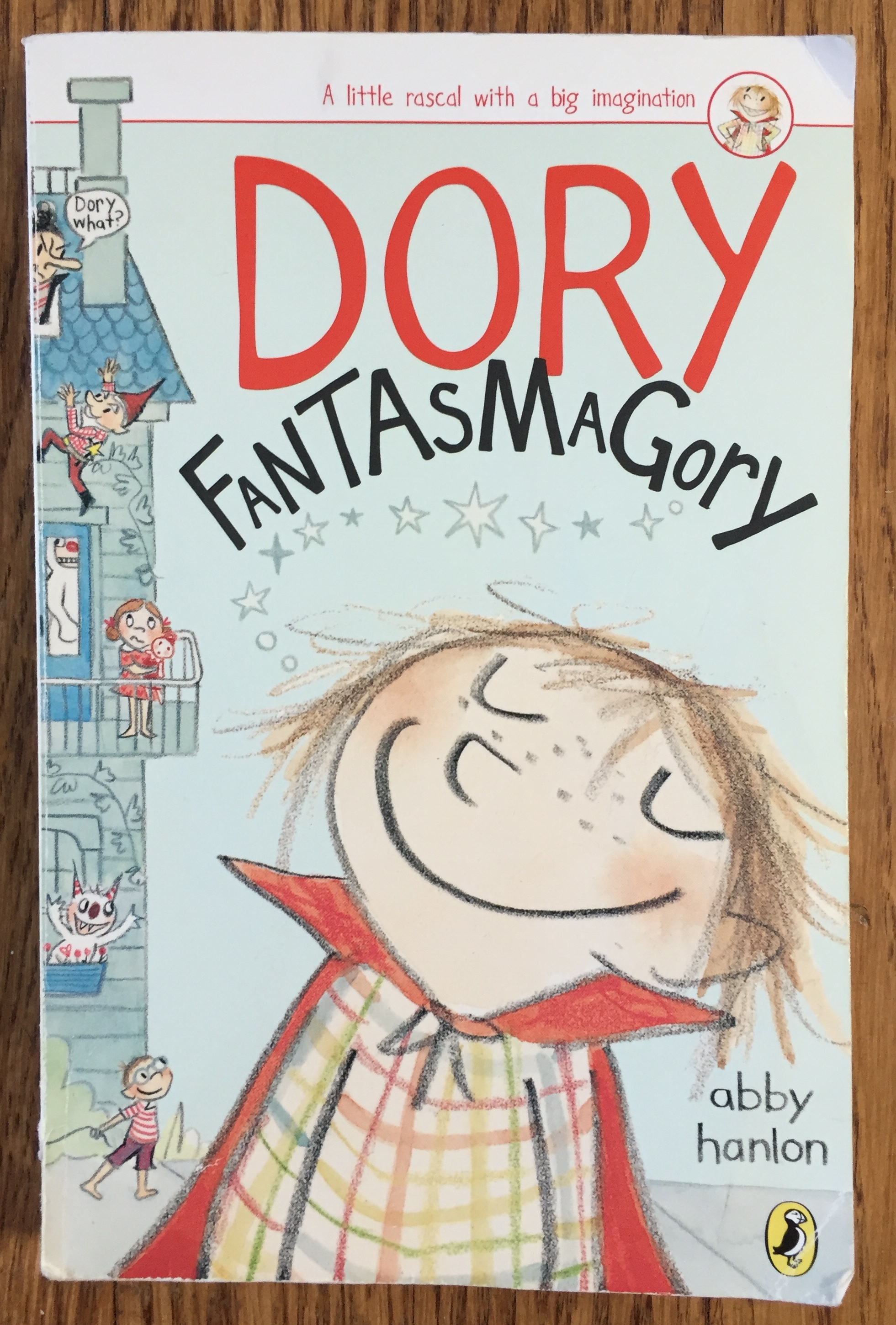 Dory Fantasmagory book one chapter book for kids by Abby Hanlon
