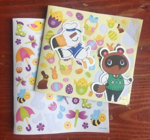 Spring stickers Easter and Animal Crossing stickers Tom Nook