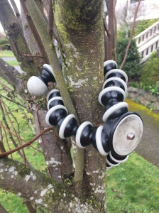 JOBY gorilla pod attached to tree branch