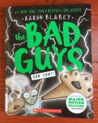 The Bad Guys in One?! book cover by Aaron Blabey