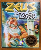 Zeus on the Loose card game for kids box
