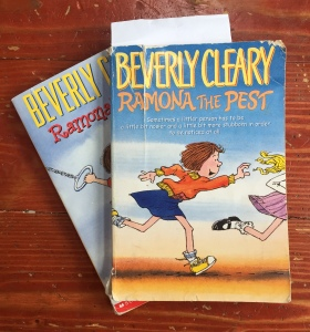 Ramona the Pest and Ramona's World by Beverly Clearly chapter books for kids