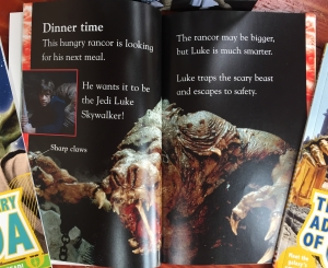 Are Ewoks Scared of Stormtroopers? Level one Star Wars Ultimate Library book page spread