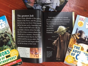 The Legendary Yoda Star Wars easy reader picture book for kids page spread