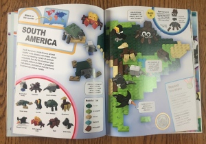 Lego Animal Atlas South American page spread