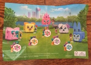 LEGO Cube Animal Series Friends Play Cube b