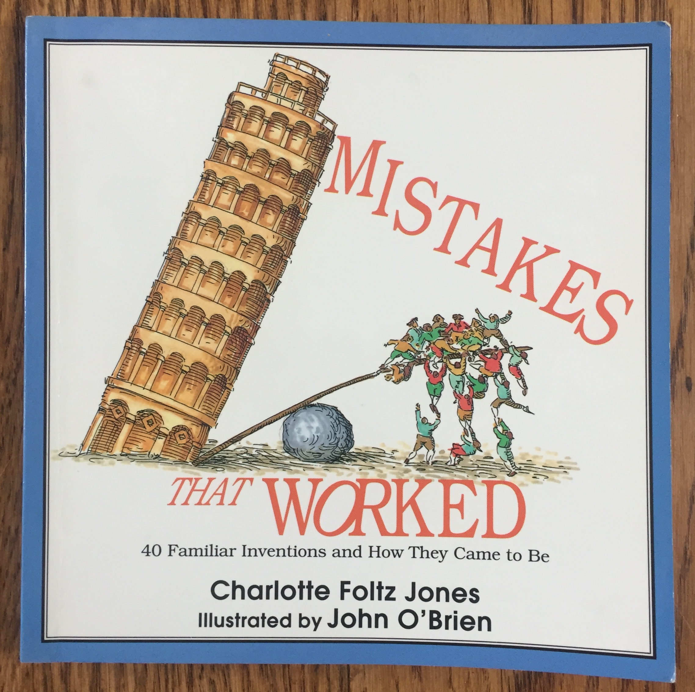 Mistakes That Worked books by Charlotte Foltz Jones