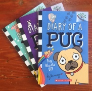 Diary of a Pug: Pug Blasts Off book one by Kyla May