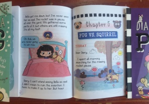 Page spread chapter f