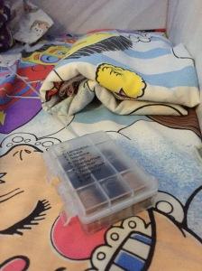 Battery pack for white string fairy lights