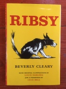Ribsy book cover by Beverly Cleary