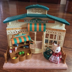 Calico Critter Grocery Market