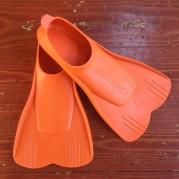 Cressi Mini Light swim fins for kids orange