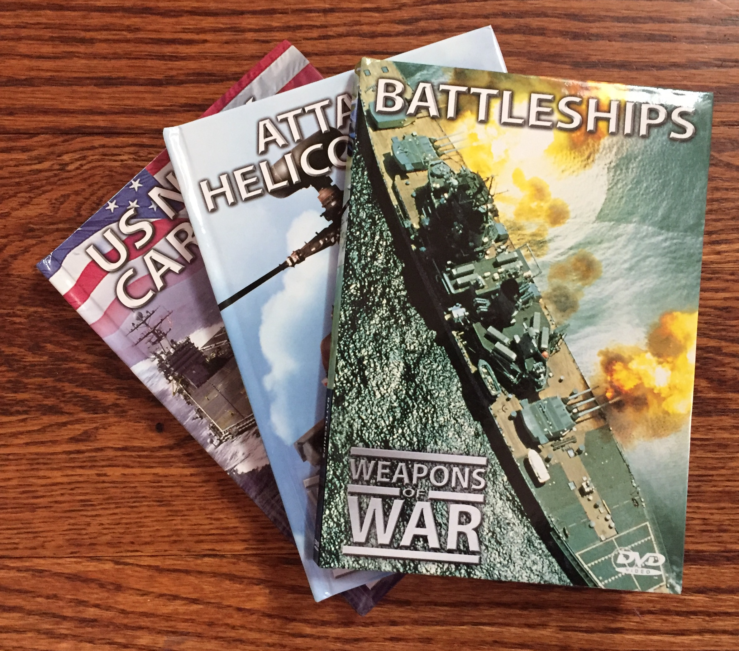 Weapons of War books with DVD