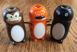 Animal-shaped LED flashlight lanterns monkey tiget and