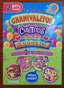 Carnivalitos Cutetitos Taste Budditos packaging