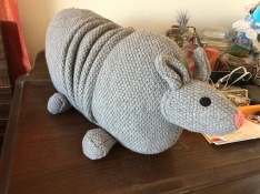 Christian Robinson Collection for Target Stuffed Armadillo pillow