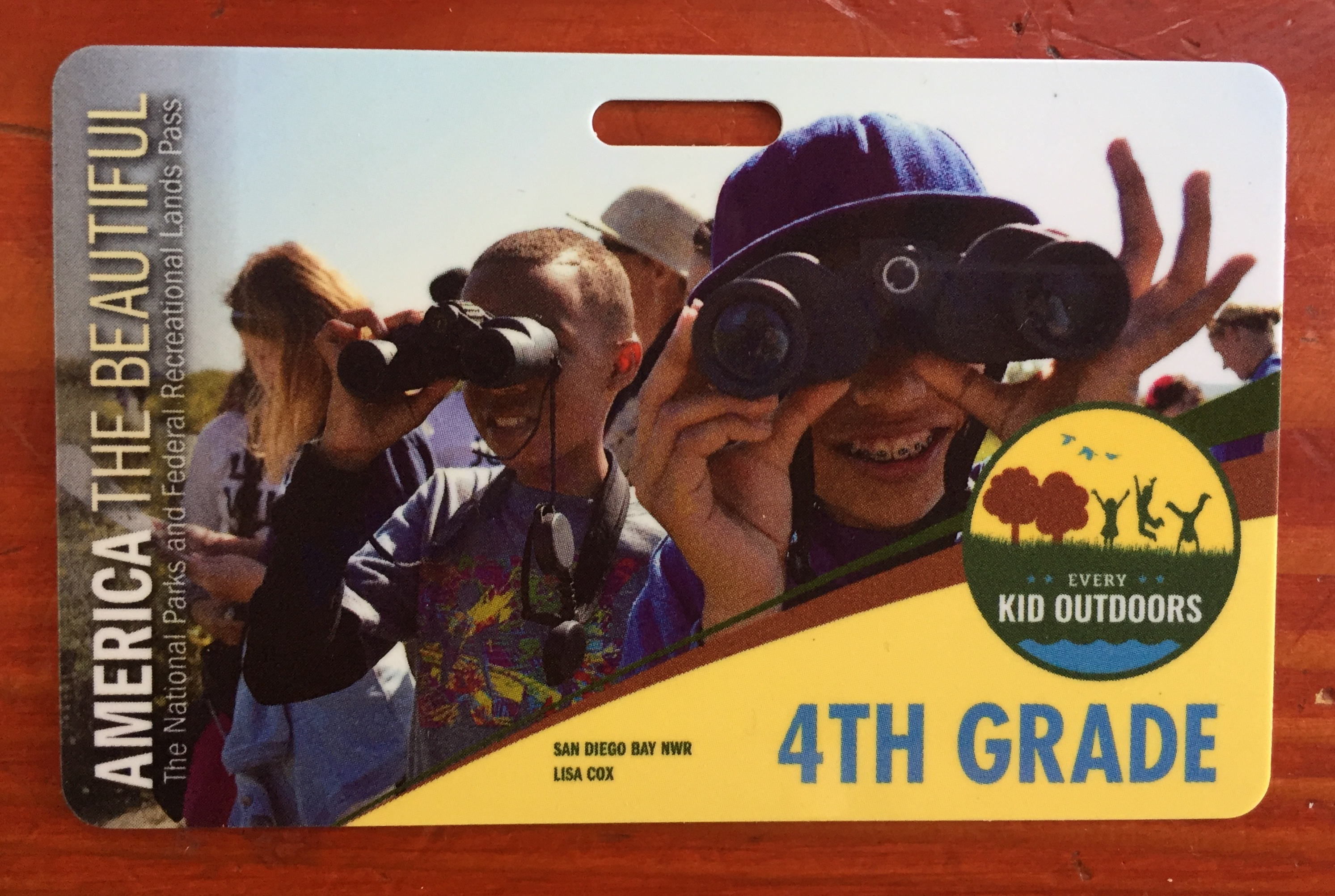 Free fourth grade pass for ten year old kids to National Parks from Every Kid Outdoors