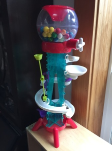 Thames and Kosmos gumball machine maker science toy for kids