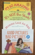 Sex education books for kids It's So Amazing! It's NOT the Stork! Mommy Laid an Egg Good Pictures, Bad Pictures Jr
