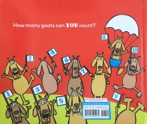 Let's Count Goats by Mem Fox back of picture book for kids